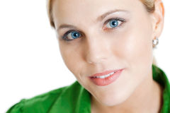 Closeup female portrait Royalty Free Stock Photo