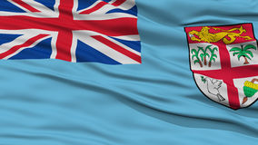 Closeup Fiji Flag Stock Image