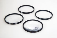 Closeup filter Kit 77mm Stock Photos