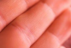 Closeup fingers backgrounds. Macro photo Stock Images