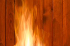 Closeup of fire Royalty Free Stock Photography