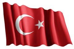 Flag of turkey Royalty Free Stock Photography