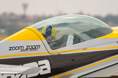 Closeup on flight routine Stock Photography