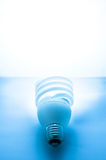Closeup of fluorescent lamp Royalty Free Stock Photography