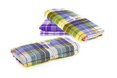 Fashion, Closeup folded of Fabric, Thai style loincloth Royalty Free Stock Photos