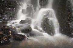 Closeup of Matai Falls Catlins Otago New Zealand stock photography