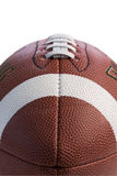 Closeup of football Royalty Free Stock Photo