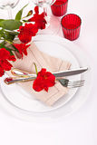 Closeup fork and knife Stock Image