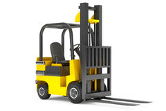 Closeup Forklift Truck Royalty Free Stock Photo