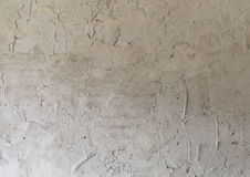 Closeup fragment of stucco wall of a building. Background Stock Photo