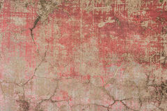 Closeup fragment of stucco wall of a building Royalty Free Stock Image