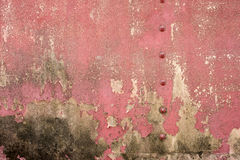 Closeup fragment of stucco wall of a building Stock Images