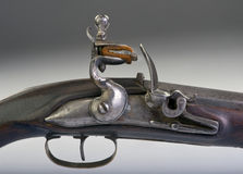 Flintlock Pistol. Royalty Free Stock Photos