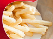 Closeup of french fries Stock Photography