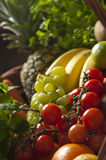 Closeup of fresh fruit Stock Image