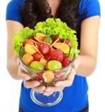 Closeup of fresh fruit salad Royalty Free Stock Photo