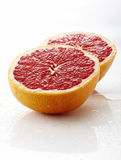 Closeup of Fresh grapefruit Royalty Free Stock Images
