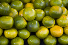 Closeup of Fresh Limes, Fruit Stock Photo