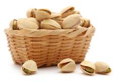 Closeup of fresh organic pistachio stock photo