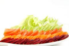 Closeup of fresh salad Stock Image