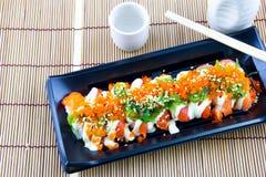 Closeup of fresh sushi Royalty Free Stock Photo