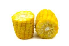 Closeup of fresh sweet corn Stock Image