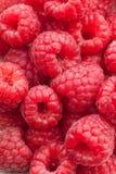 Closeup of fresh and tasty raspberries Stock Photo
