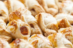 Closeup of freshly baked pastry Royalty Free Stock Photos