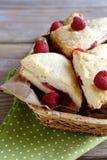 Closeup of freshly baked  scones Stock Image