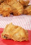 Closeup fried chicken Royalty Free Stock Image