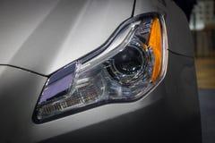 The Closeup Front Headlight car Stock Image