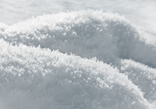 Closeup frost background Stock Images