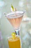 Closeup Fruit cocktails Royalty Free Stock Photography