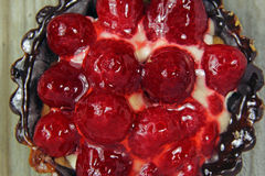 Closeup of fruit tart Royalty Free Stock Photos