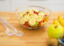 Closeup on fruits salad Stock Image