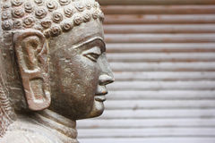 Closeup of Gautaum Buddha statue Stock Photography