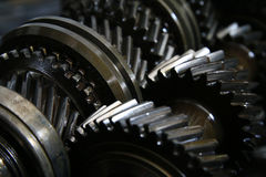 Closeup on gears of auto transmission gearbox - Series 2 Stock Photo