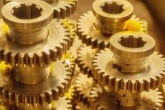 Closeup gears Stock Image