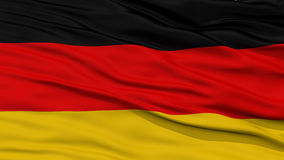 Closeup Germany Flag vector illustration