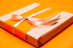 Closeup gift box Royalty Free Stock Photos