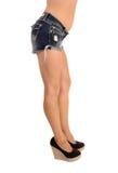Closeup of girls legs. Stock Image
