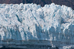 Closeup of glacial texture Stock Images