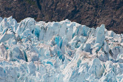 Closeup of glacier details Stock Photos