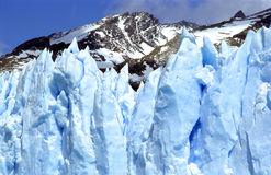 A closeup of Glacier Perito Moreno, Part II Stock Photography