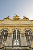 Closeup of the gloriette in vienna Royalty Free Stock Photo