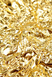 Closeup of golden texture Royalty Free Stock Photo