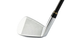 Closeup of golf club head Royalty Free Stock Images