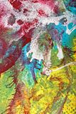 Abstract Gouache Swirl Royalty Free Stock Images