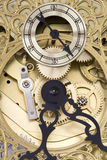 Closeup of Grandfather Clock Royalty Free Stock Image