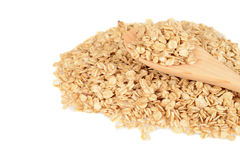 Granola with wood spoon Stock Images